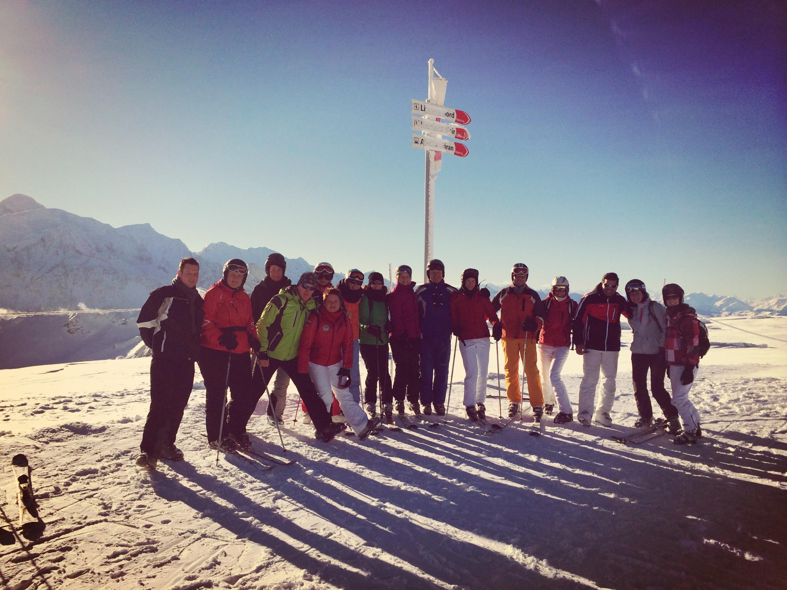Single reizen skien